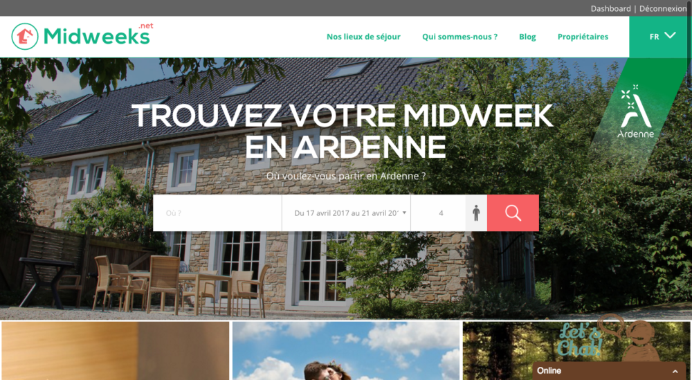 nouvelle version de Midweeks.net