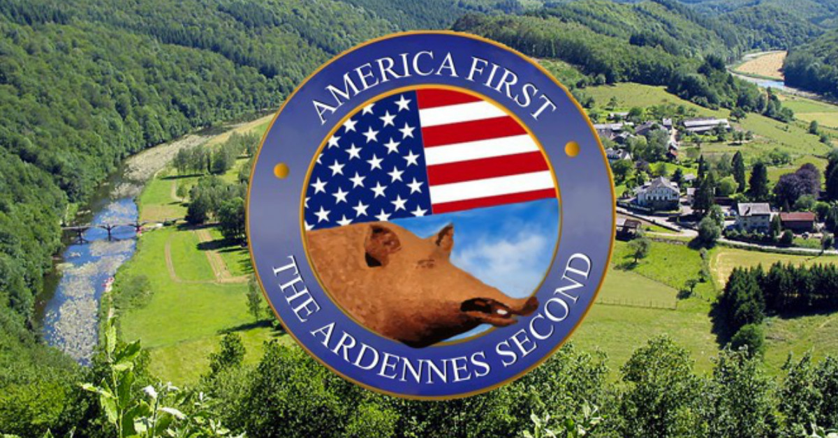 America First, the Ardennes second