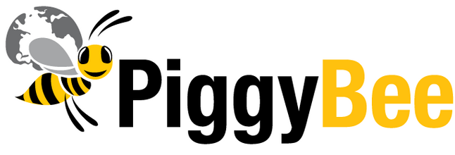 logo PiggyBee the crowdshipping community
