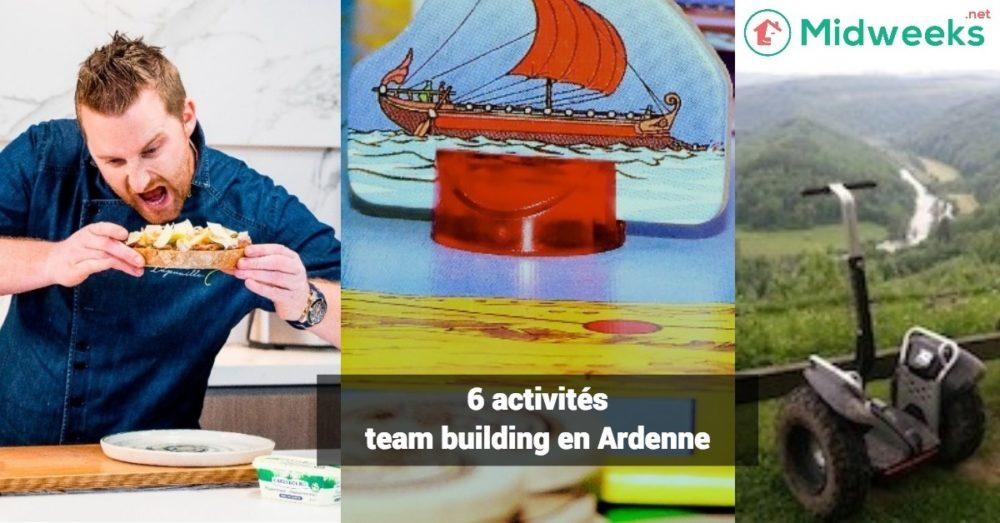 6 activités de team building en Ardenne